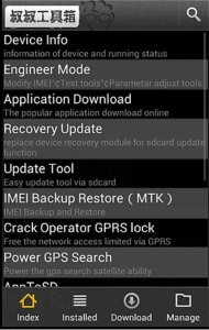 how to use mtk droid tools to change imei