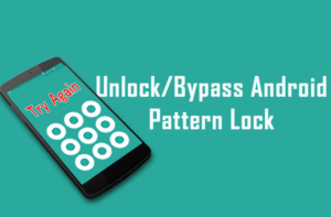 unlock android pattern lock without data loss