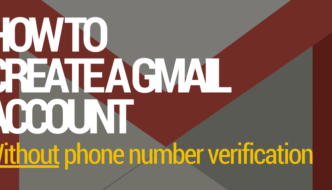 How to Create Gmail Account Without Phone Number (PC / Mobile)