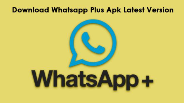 whatsapp plus apk latest version