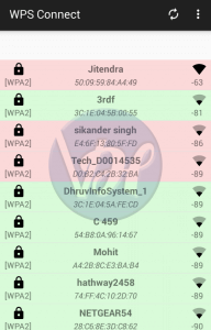 wps connect show wifi list 192x300 - Top 10 WiFi Hacking Apps For Android 2018
