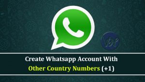 How to Create Whatsapp Account With USA Number