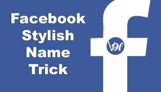 How to Make Stylish Name ID on FB