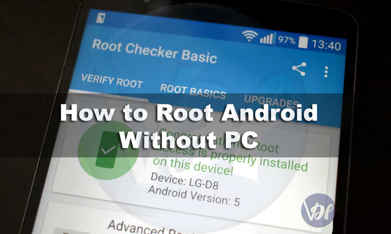 How to root android phone without pc, Root Android Without Computer