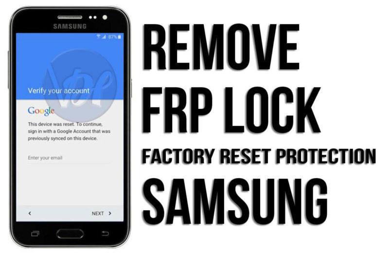 Remove FRP Lock Samsung