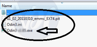 extract odin zip file