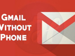 gmail-without-phone