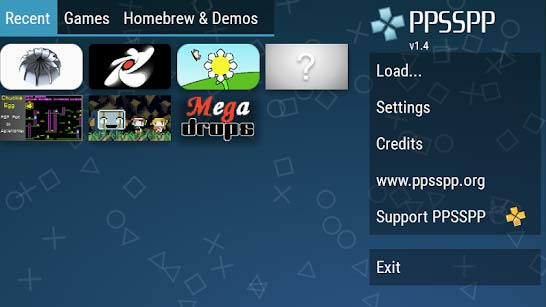PSP games in Android