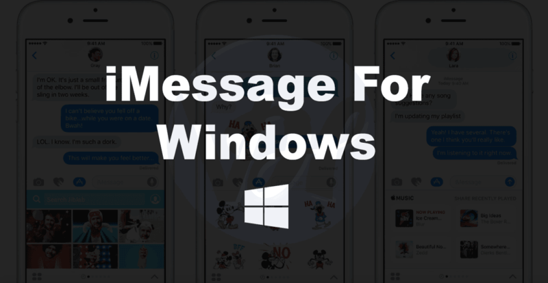 imessage-for-windows