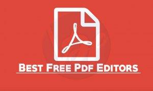 5 Best Free PDF Editors of 2019