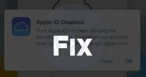 Your Apple ID Has Been Disabled | Solved