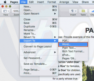 How To Convert Pages To Word File | Latest Method