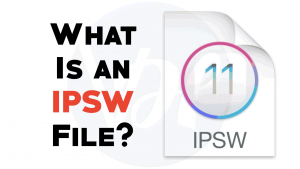 What Is an IPSW File?