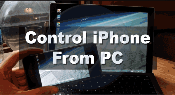 How to Control iPhone from Computer Without Jailbreak