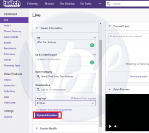 How to Stream on Twitch | With OBS Software