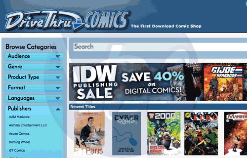 DriveThru Comics