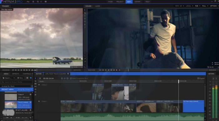 HitFilm Editor