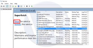 What is Service Host Superfetch? Problem of High Disk Usage?