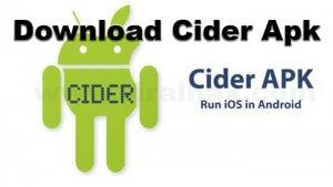 Cider Apk Download