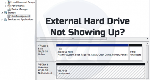 Fix External Hard Drive Not Showing Up in Windows 7, 8, 10