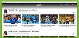 Laola1, football streaming site