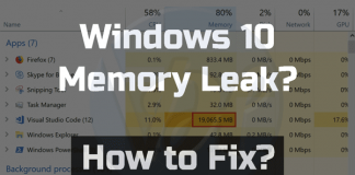 Windows-10-Memory-Leak