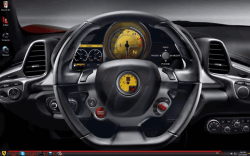 Ferrari Windows 7 Theme