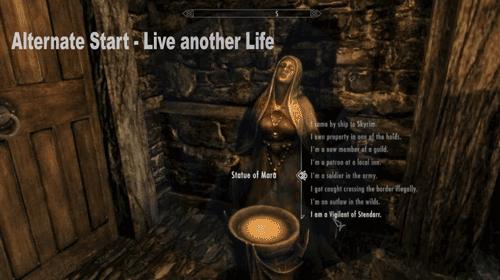 Alternate Start - Live another Life