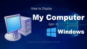 Where is My Computer in Windows 10, 8, 7 ?