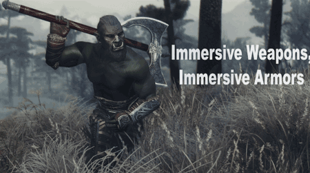 Immersive Weapons, Immersive Armors