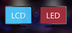 LED vs LCD: Differences Between Both Displays