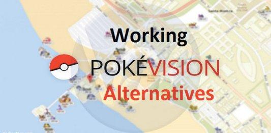 pokevision-alternatives