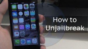 how to unjailbreak iphone, how to unjailbreak iphone without computer,  how to unjailbreak iphone ios 11