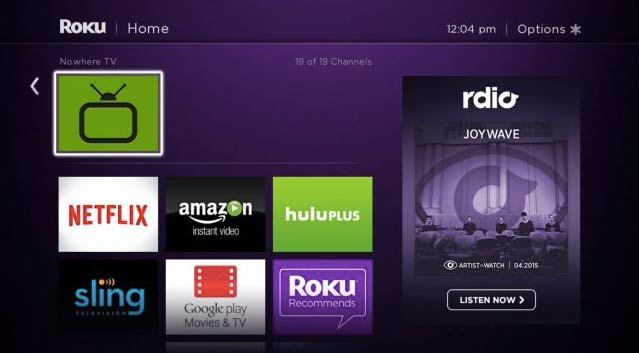 Nowhere TV (H9DWC)