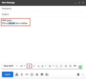 How to Perform Gmail Strikethrough While Writing Online