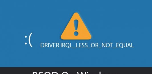 driver-irql_less_or_not_equal