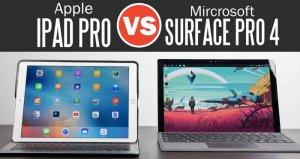 iPad Pro vs Surface Pro 4 | Detailed Comparison