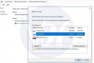 How to Create Windows 10 Image Backup?