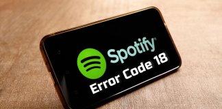fix-spotify-error-code-18