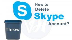 How to Delete Skype Account in 2019