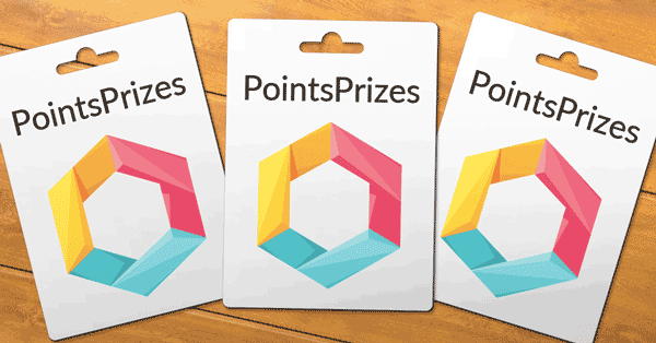 Points Prizes