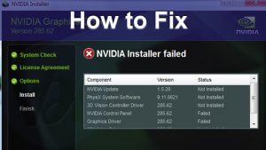 Fix Nvidia Installer Failed Windows Error - Viral Hax