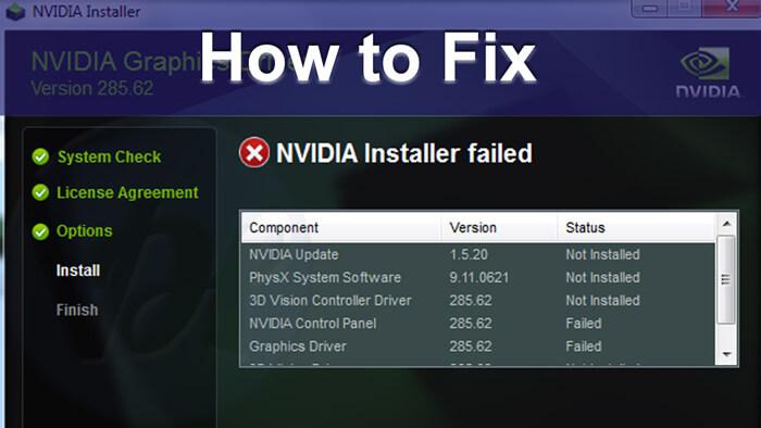 Fix-Nvidia-Installer-Failed-Windows-Error-1