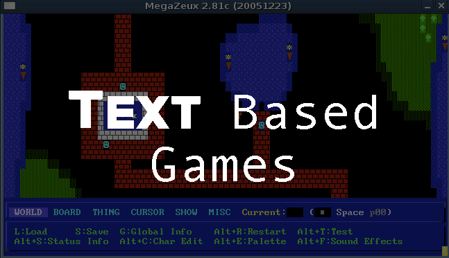 Text Based Games