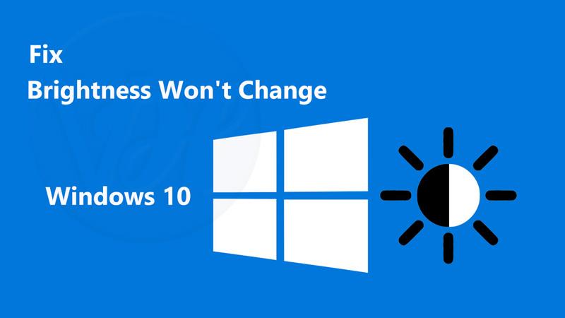 Can't Adjust Brightness on Windows 10?   Solved