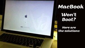 MacBook Pro Won't Boot