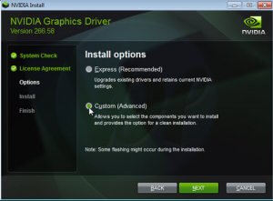 Fix Nvidia Installer Failed Windows Error
