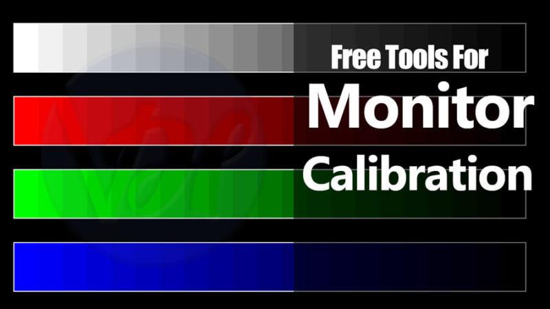 Free Tools For Monitor Calibration