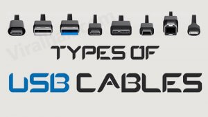 Types of USB Cables