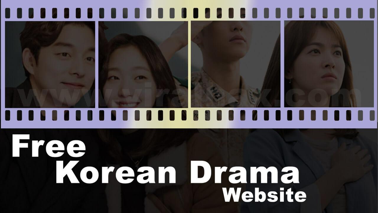 5 Best Korean Drama Website | FREE KOREAN DRAMA - Viral Hax